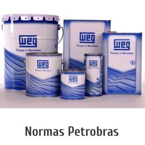 Tinta epóxi norma Petrobras