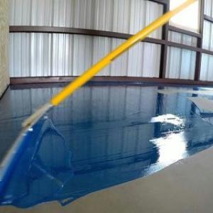 Tinta para piso industrial